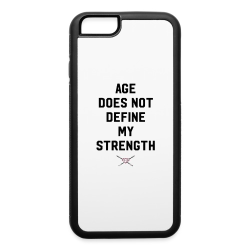 age strength black - iPhone 6/6s Rubber Case