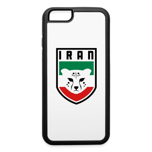 Iran Cheetah Badge - iPhone 6/6s Rubber Case