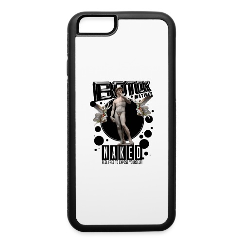 BOTOX MATINEE NAKEDT-SHIRT - iPhone 6/6s Rubber Case