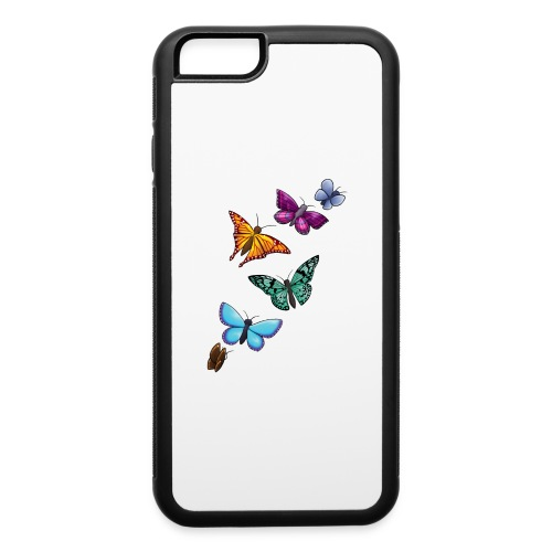 butterfly tattoo designs - iPhone 6/6s Rubber Case