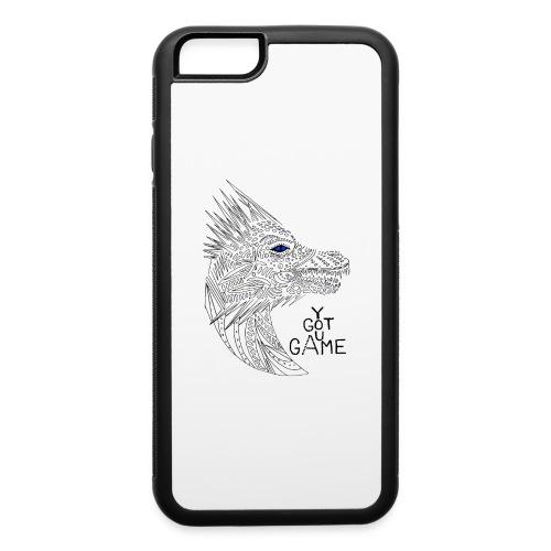 Blue eye dragon - iPhone 6/6s Rubber Case