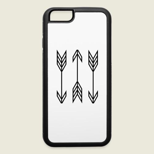 arrow symbols - iPhone 6/6s Rubber Case
