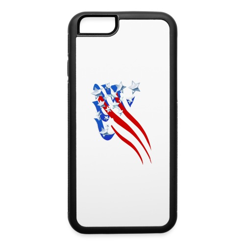 Sweeping Old Glory - iPhone 6/6s Rubber Case