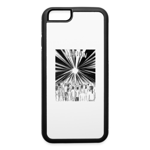 Black_and_White_Vision - iPhone 6/6s Rubber Case