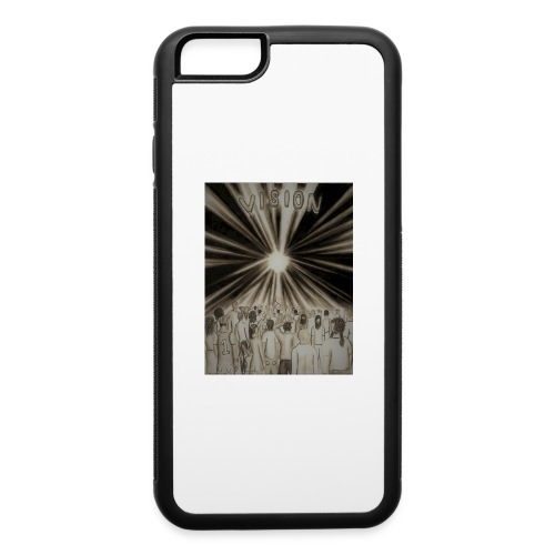 Black_and_White_Vision2 - iPhone 6/6s Rubber Case