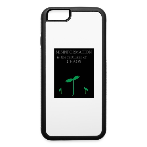 Misinformation - iPhone 6/6s Rubber Case