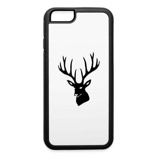 stag night deer buck antler hart cervine elk - iPhone 6/6s Rubber Case