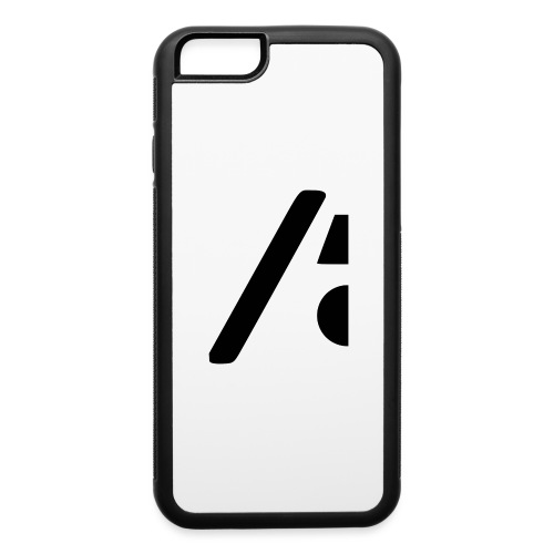 Half the logo, full on style - iPhone 6/6s Rubber Case
