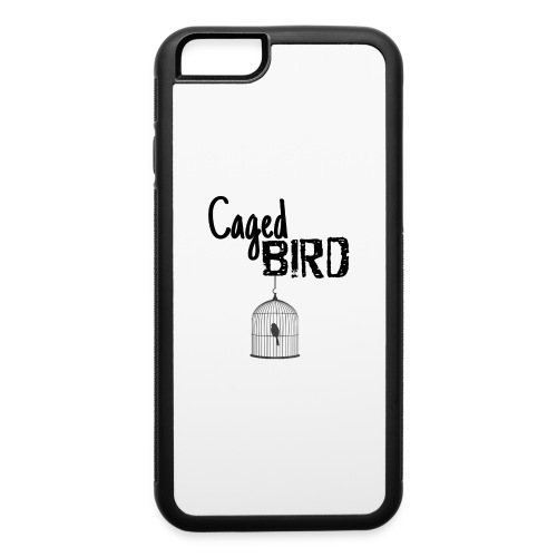 Caged Bird Abstract Design - iPhone 6/6s Rubber Case