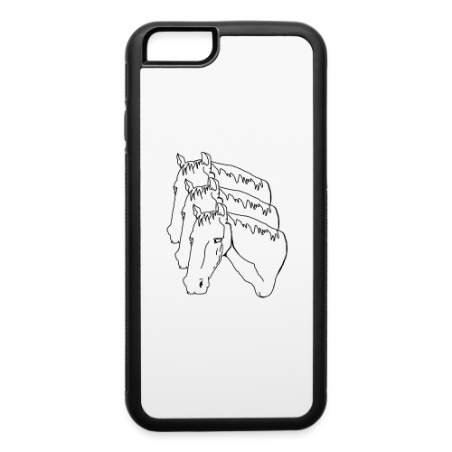 horsey pants - iPhone 6/6s Rubber Case