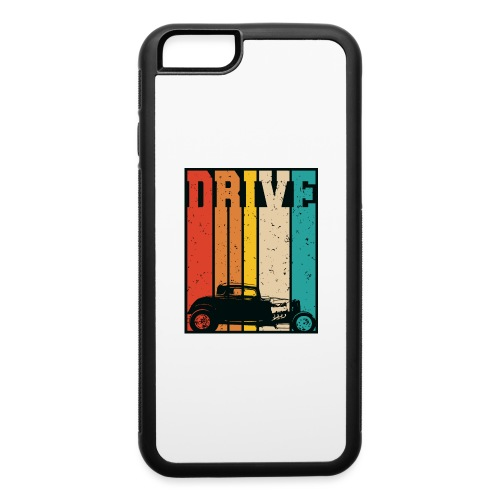 Drive Retro Hot Rod Car Lovers Illustration - iPhone 6/6s Rubber Case