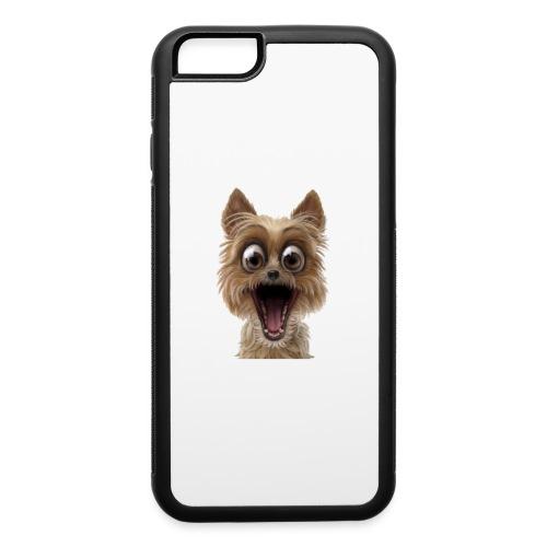 Dog puppy pet surprise pet - iPhone 6/6s Rubber Case