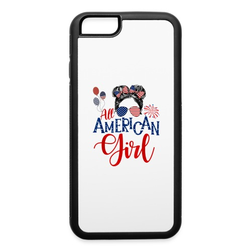 All American Girl - iPhone 6/6s Rubber Case