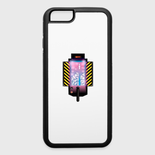 Ghostbusters Tetris Fair Use Mashup - iPhone 6/6s Rubber Case