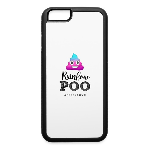 Rainbow Poo - iPhone 6/6s Rubber Case