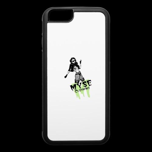 MYSE Clothing - badass babe - iPhone 6/6s Rubber Case