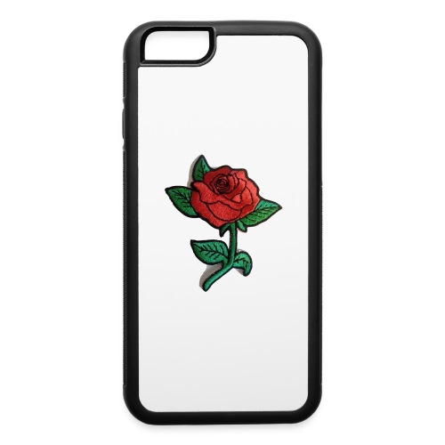 t-shirt roses clothing🌷 - iPhone 6/6s Rubber Case