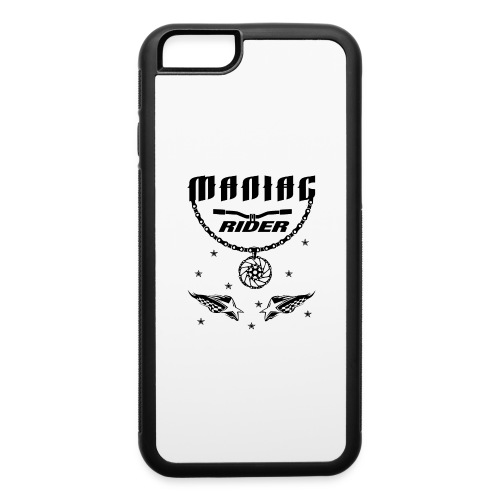Maniac Rider Downhill Mountainbike bike-rider - iPhone 6/6s Rubber Case