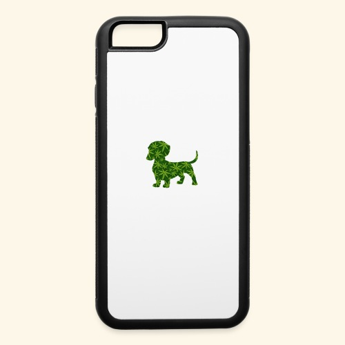 PUFFY DOG - PRESENT FOR SMOKING DOGLOVER - iPhone 6/6s Rubber Case