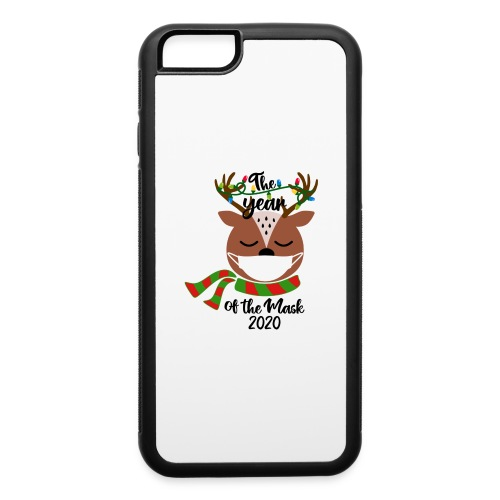 Year of the Mask Deer - iPhone 6/6s Rubber Case