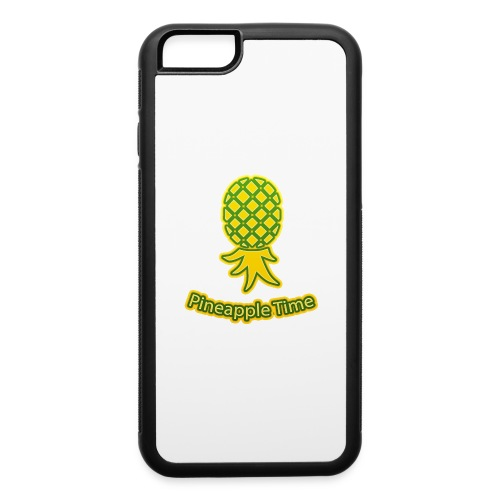 Swingers - Pineapple Time - Transparent Background - iPhone 6/6s Rubber Case