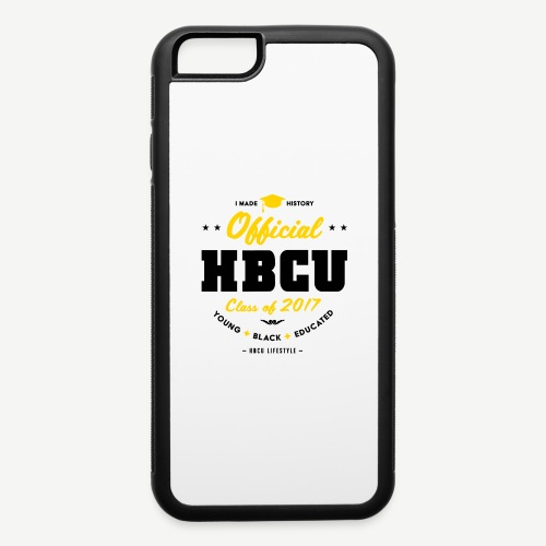 Official HBCU Class of 2017 Grad - iPhone 6/6s Rubber Case