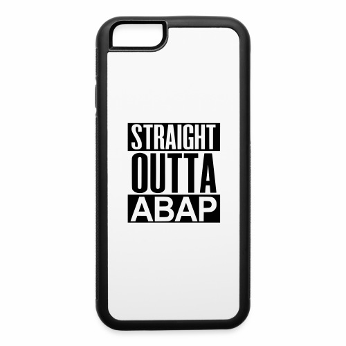 StraightOuttaABAP - iPhone 6/6s Rubber Case