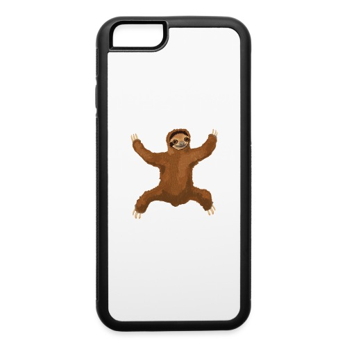 Sloth Love Hug - iPhone 6/6s Rubber Case