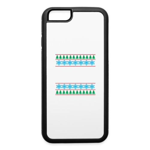 MK6 GTI Ugly Christmas Sweater - iPhone 6/6s Rubber Case