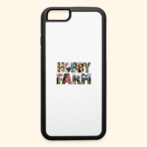 Island Hobby Farm White Logo - iPhone 6/6s Rubber Case