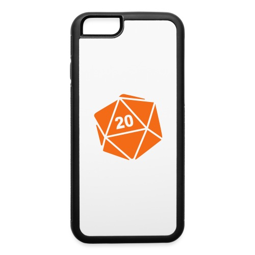 D20 Winter Toque - iPhone 6/6s Rubber Case