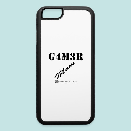 Gamer Mom (black) - iPhone 6/6s Rubber Case