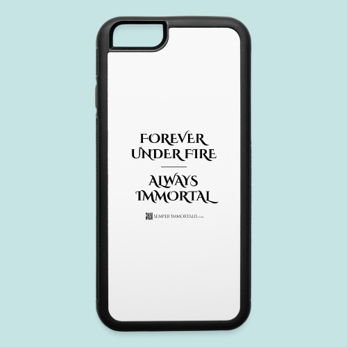 Always Immortal (black) - iPhone 6/6s Rubber Case