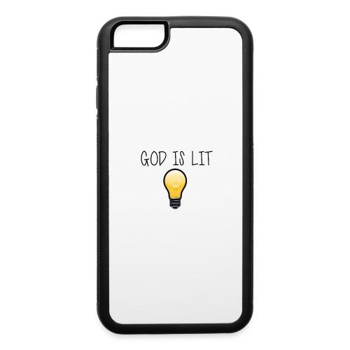 God is Lit - iPhone 6/6s Rubber Case
