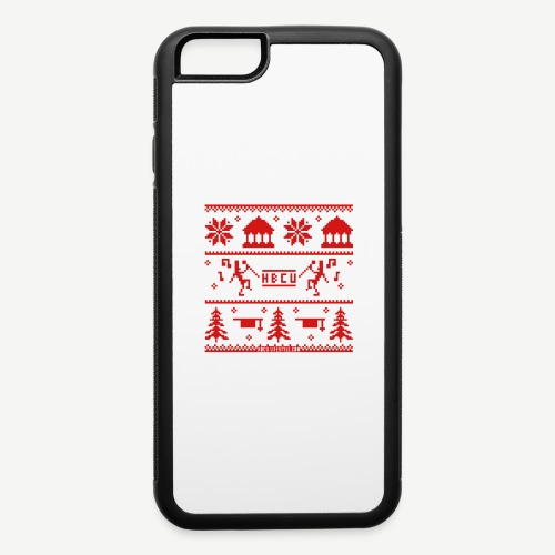 HBCU Ugly Christmas Sweat - iPhone 6/6s Rubber Case