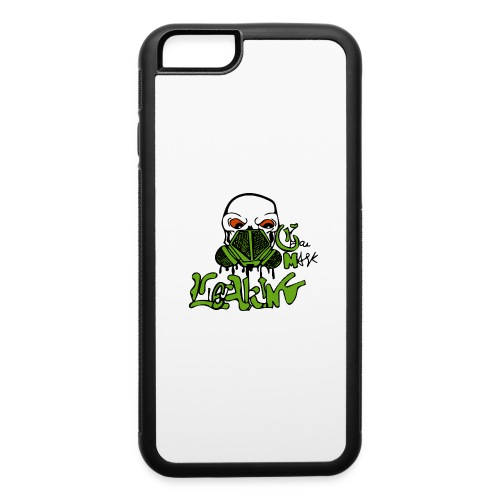 Leaking Gas Mask - iPhone 6/6s Rubber Case