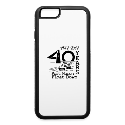 Port Huron Float Down 2017 - 40th Anniversary Shir - iPhone 6/6s Rubber Case
