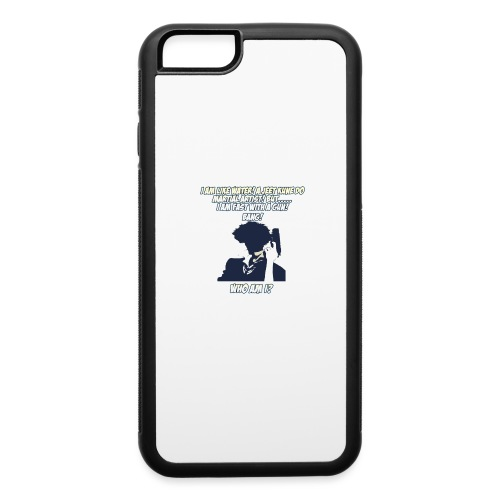 AnimeBusters Guess Who Series- Spike - CowboyBebop - iPhone 6/6s Rubber Case