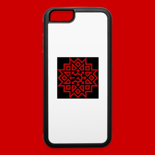 Chaos Communism Button - iPhone 6/6s Rubber Case