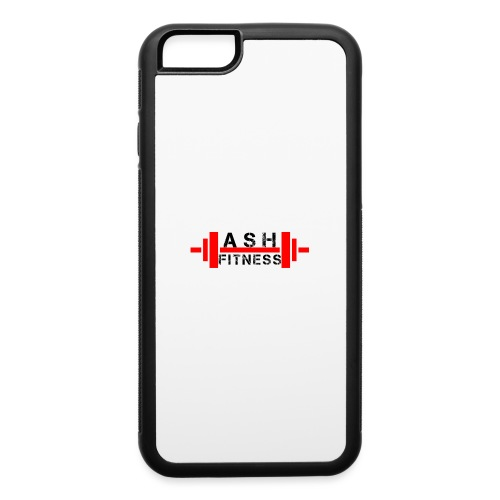 ASH FITNESS MUSCLE ACCESSORIES - iPhone 6/6s Rubber Case