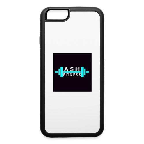 ASH FITNESS ACCESSORIES - iPhone 6/6s Rubber Case
