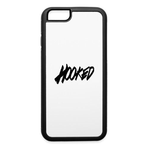 Hooked black logo - iPhone 6/6s Rubber Case