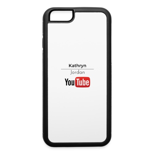 K and J youtube - iPhone 6/6s Rubber Case