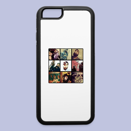 Throwback ART Mixtape Cover - iPhone 6/6s Rubber Case