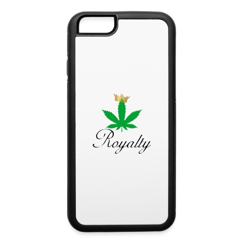 princessroyaltyleafcrown - iPhone 6/6s Rubber Case