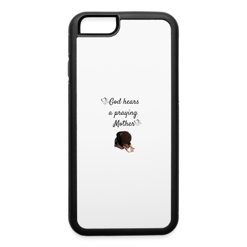 Praying Mother - iPhone 6/6s Rubber Case