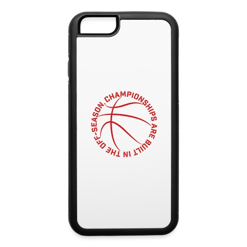 Championships Basketball - iPhone 6/6s Rubber Case