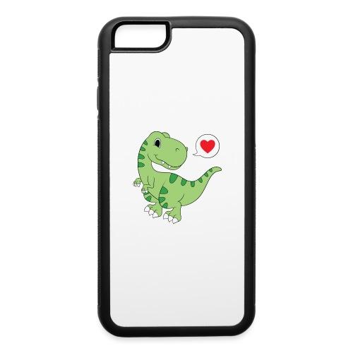 Dinosaur Love - iPhone 6/6s Rubber Case
