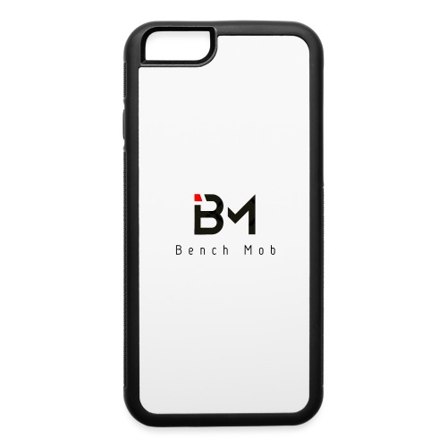 Bench Mob Logo (black) - iPhone 6/6s Rubber Case