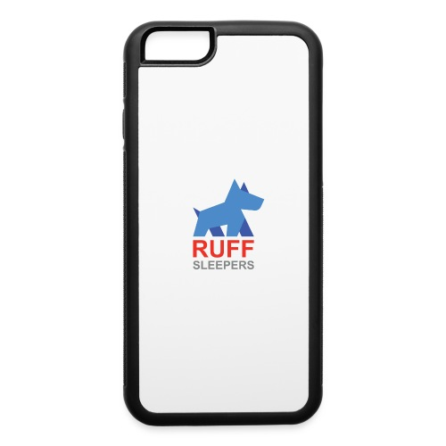 ruffsleepers logo 01 - iPhone 6/6s Rubber Case